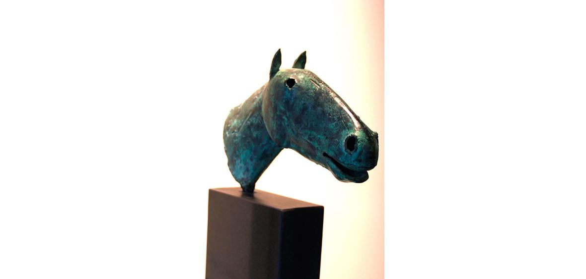 PFERDEKOPF  Bronze