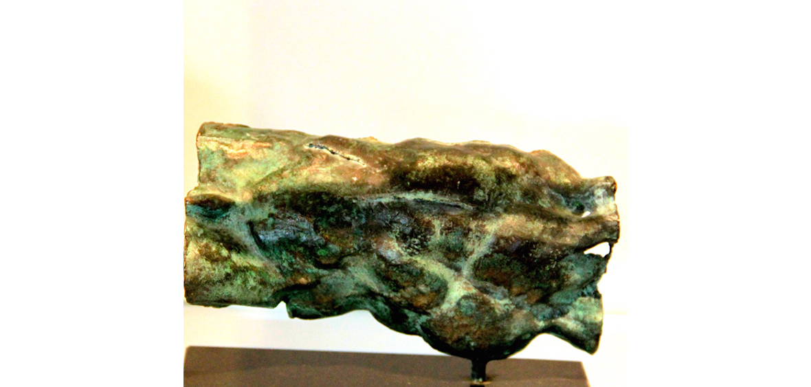 TORSO liegend  Bronze