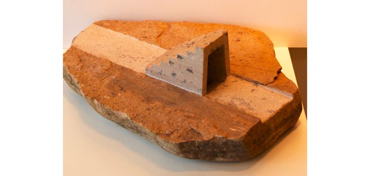 Aufundab - Sandstein