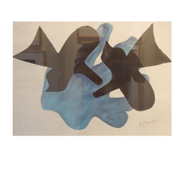 George Braque - Schwarze Vögel 1964