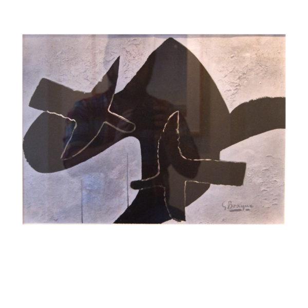 George Braque - Schwarze Vögel 1963