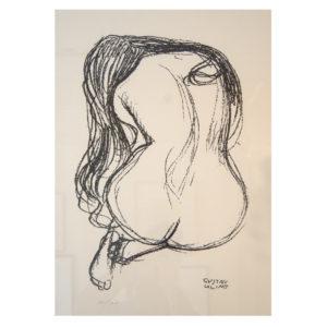 Gustav Klimt - Rücken