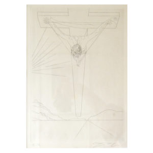 Salvador Dali - Study crucified I