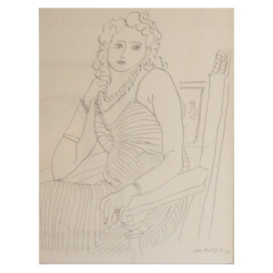 Henri Matisse - Frau mit Halskette I