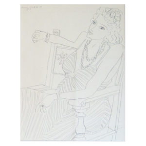 Henri Matisse - Frau mit Halskette II