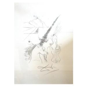 Salvador Dali - Das Einhorn