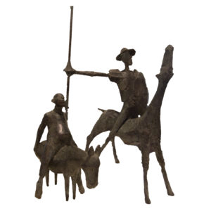 Rainer Kessel - Don Quichote und Sancho Pansa