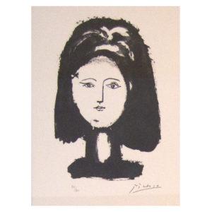 Pablo Picasso - Visage de femme