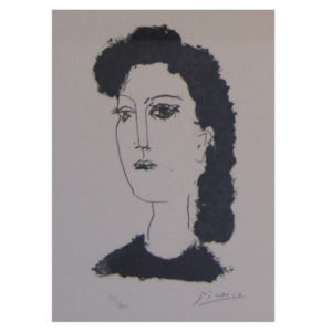 Pablo Picasso - Tete de femme