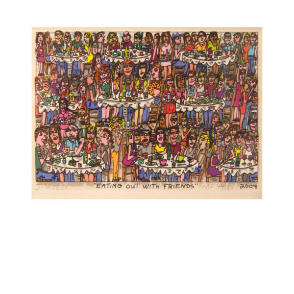 James Rizzi - Eating out with friends