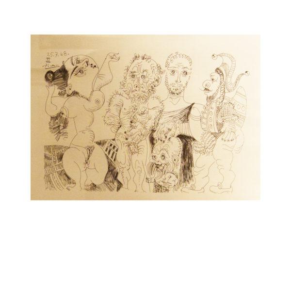 Pablo Picasso - eau-forte