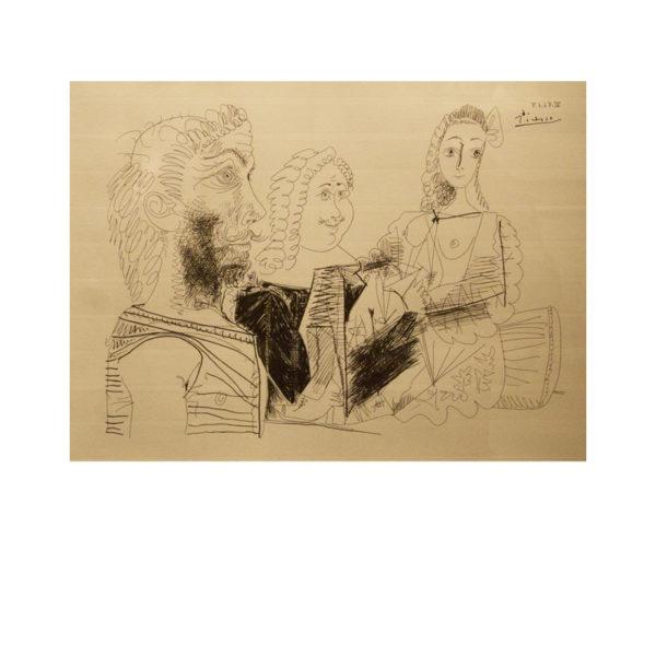 Pablo Picasso - eau-forte II