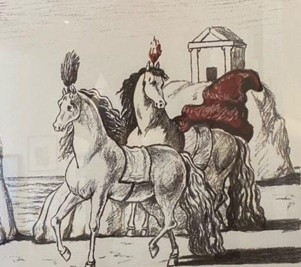 Georgio de Chirico - Corelli di Archille