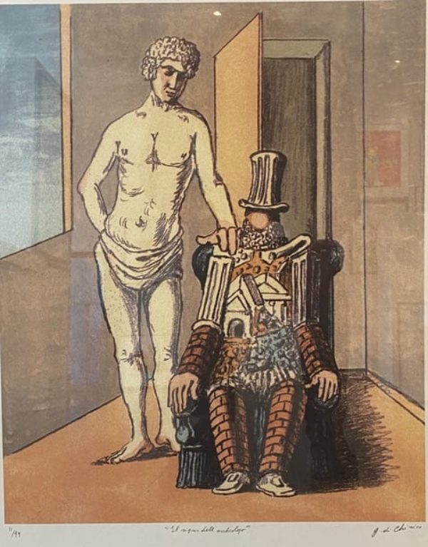 Georgio de Chirico - Il ziposo delli orcheolgo