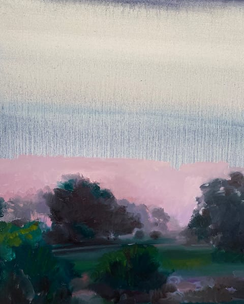 Lilac Morning I