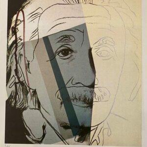 Andy Warhol – Albert Einstein 1977