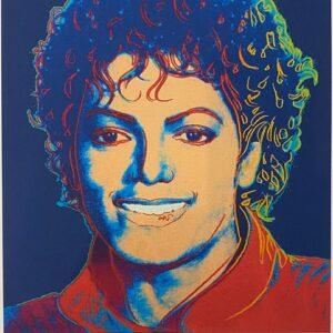 Andy Warhol – Michael Jackson 1982