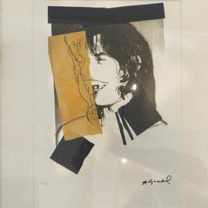 Andy Warhol – Mick Jagger 1980