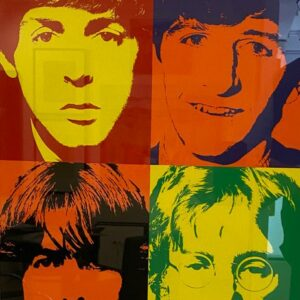 Andy Warhol – The Beatles 1972