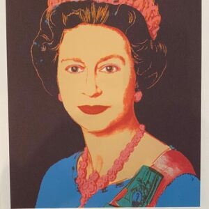 Andy Warhol – The Queen 1970